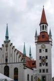 MONACHIUM, GERMANY/EUROPE - WRZESIEŃ 25: Zabawkarski muzeum w Starym Obrazy Stock