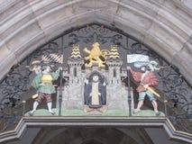 Monachium heraldyczny grzebień zdjęcia stock