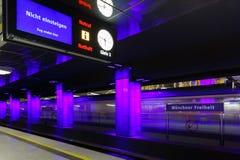 Monachium metro Zdjęcie Royalty Free