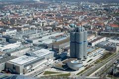 Monachium, miasto widok Zdjęcia Royalty Free
