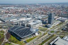 Monachium, miasto widok Fotografia Stock