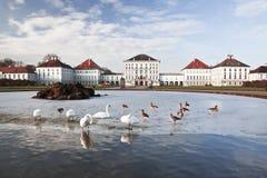 Nymphenburg pałac. Monachium. Zdjęcia Royalty Free