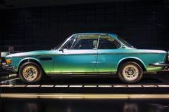 Monachium, Niemcy Czerwiec 17, 2012: BMW 3,0 CSi Coupe samochód dalej Zdjęcia Stock
