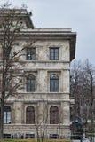 Monachium Niemcy europejczyka stylu starzy nowi budynki uliczni Obrazy Royalty Free