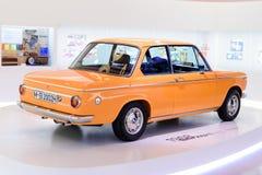 Monachium, Niemcy, Kwiecień 19, 2016 - BMW 2002 ti przy muzeum BMW Zdjęcie Royalty Free
