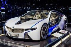 Monachium, Niemcy, Kwiecień 19, 2016 - Futurystyczny BMW samochód Zdjęcie Stock