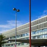 MONACHIUM Niemcy, Sierpień, - 18, 2017: Widok Nord centrali stacja Hauptbahnhof Nord przed odświeżaniem obraz royalty free