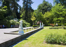 Monachium, ogród botaniczny w wiośnie Zdjęcia Royalty Free