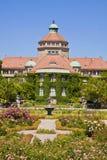 Monachium, ogródu botanicznego środkowy budynek w wiośnie Zdjęcia Royalty Free