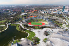 Monachium, olimpia park Zdjęcia Royalty Free