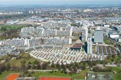 Monachium, olimpia park Fotografia Stock