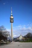 Monachium olimpia wierza Zdjęcia Stock