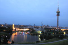 Monachium - Olimpijski park Obraz Royalty Free