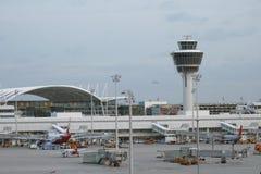 Monachium portów lotniczych Fotografia Royalty Free