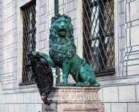 Monachium, Residenz Bawarscy królewiątka w Monachium pałac królewski, Niemcy obrazy royalty free