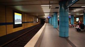 Monachium stacji metrej nowożytnego projekta architektura obraz royalty free