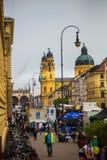 Monachium streetlife festiwal zdjęcia royalty free