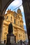 Monachium theatine do kościoła Obraz Royalty Free