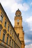 Monachium theatine do kościoła Zdjęcia Royalty Free