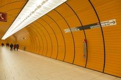 Monachium U-Bahn Zdjęcia Stock