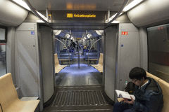 Monachium u-Bahn Obrazy Royalty Free
