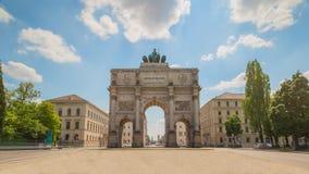 Monachium zwycięstwa brama Zdjęcie Stock