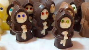 Monaci del cioccolato Immagini Stock