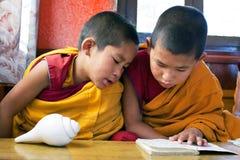 Monaci del principiante, Nepal Immagine Stock Libera da Diritti