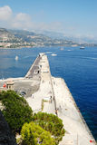 Monaco. And its famous harbour Royalty Free Stock Images