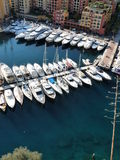 Monaco. The Port of Fontvieille is well protected and has berths for 160 vessels. Fontvieille was added as fourth ward, a newly constructed area reclaimed from Stock Images