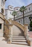 Monaco. Stairs in the streets of Monaco stock photos