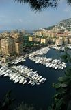 Monaco. Marina in Monaco Stock Photos