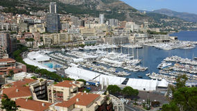Monaco. The city of Monaco Monte-Carlo Europe Royalty Free Stock Photo