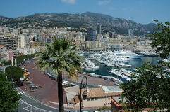 Monaco. Marina, skyline of royalty free stock photos