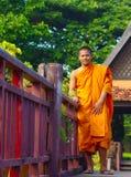 Monaco alla Cambogia Villiage culturale Fotografie Stock Libere da Diritti