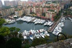 Monaco-Ansicht stockbilder