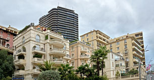 Monaco - Architecture of buildings Stock Photography