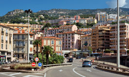 Monaco - Architecture of the city Royalty Free Stock Image