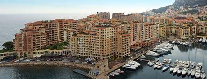 Monaco - Architecture Fontvieille district Royalty Free Stock Photos