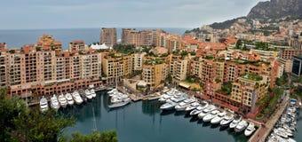 Monaco - Architecture Fontvieille district Royalty Free Stock Photo
