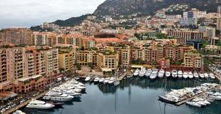 Monaco - Architecture Fontvieille district Stock Photo