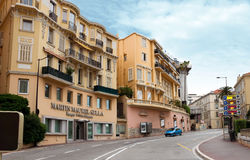 Monaco - Architecture of residential buildings Stock Photography