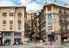 Monaco - Architecture of residential buildings Royalty Free Stock Photo