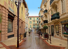 Monaco - Architecture of residential buildings Royalty Free Stock Images