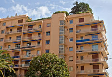 Monaco - Architecture of residential buildings Stock Images