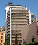 Monaco - Architecture of residential buildings Stock Image