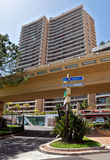 Monaco - Architecture of residential buildings Stock Photos