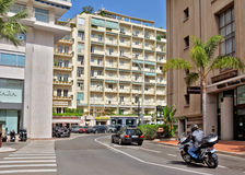 Monaco - Architecture of residential buildings Royalty Free Stock Photos
