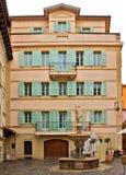 Monaco - Architectuur van prinsdom Stock Foto's