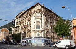 Monaco - arkitektur av byggnader Royaltyfri Bild